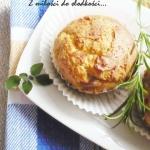 Paprykowe muffinki z bial...