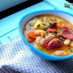 Kremowa zupa fasolowa z...