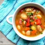Kremowa zupa fasolowa
