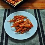 Frytki z marchewki w ziol...