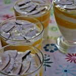 Kremowy deser z mango , m...