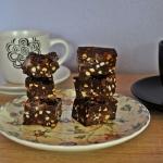 Blok kakaowy z maslem orz...