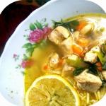 Zupa cytrynowa z...