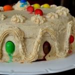 Tort orzechowo-bananowy z...
