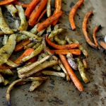 Frytki z warzyw: selera,...