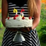Tort malinowo-czekoladowy...