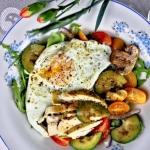Salatka z grillowanych wa...