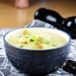 Kremowa zupa z porów