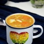 Gesta zupa z czerwonej so...