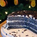 Świąteczny tort makowo...
