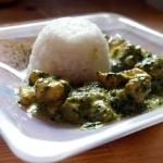 Curry z kurczaka ze szpar...