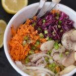 Salatka z fasola