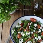 Salatka z twarozkiem