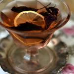 Serbet cytrynowy z fiolet...