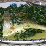 Ryba ze szpinakiem