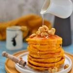 Bardzo puszyste pancakes...