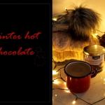 Zimowa goraca czekolada z...