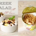 Greek salad z białą...