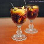 Drink z mango i zurawina!...
