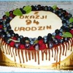 Tort urodzinowy z okazji...