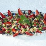 Zdrowa salatka z kasza ku...