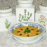 Zupa krem z dyni i bialej...