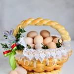 Wielkanocny koszyczek...