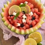 Salatka arbuzowa z feta i...