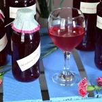 Domowy sok malinowy