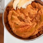 Hummus z suszonymi pomido...
