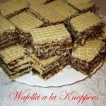 Wafelki à la Knoppers...