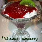 Malinowo – kokosowy...