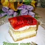 Wiosenne ciasto...