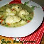 Zupa kalafiorowa wg Aleex
