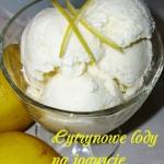 Cytrynowe lody na...