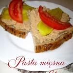 Mięsna pasta wg Aleex