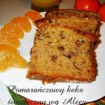 Pomarańczowy keks...