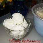 Lody kokosowe wg Aleex