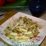 Szparagi z czosnkiem wg...