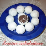Śnieżne czekoladowe...