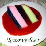 Teczowy deser wg Aleex
