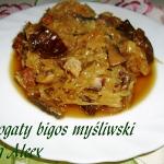 Bogaty bigos myśliwski...