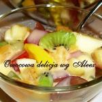 Owocowa delicja wg Aleex