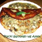 Placki gajowego wg Aleex