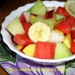 Letnia sałatka owocowa...