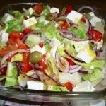 Salatka grecka wg Aleex