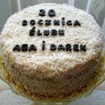 Tort jubileuszowy wg Alee...