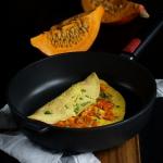 Jesienny omlet z dynią