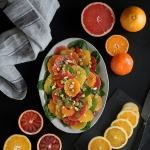 Lekka salatka z cytrusow