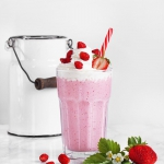 Milkshake truskawkowy....